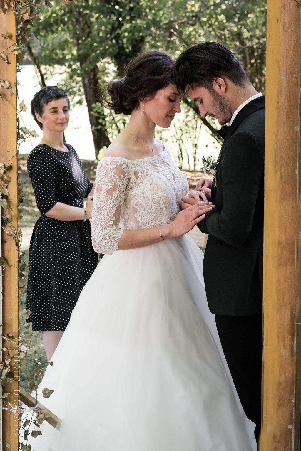Cérémonie laïque mariage et officiante de cérémonie