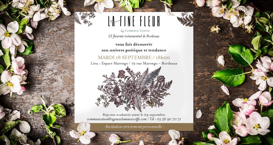 Invitation La Fine Fleur