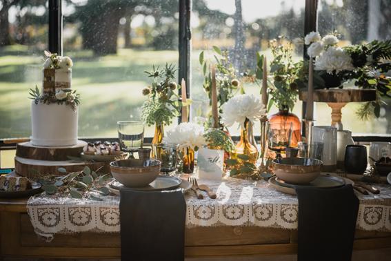 Décoration de table mariage Aquarelle Brume